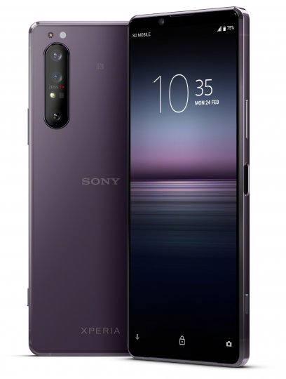 Das Design des Sony Xperia 1 II sticht aus der Masse heraus