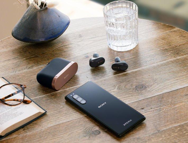 Für Sony-Bluetooth-Headsets sind spezielle Audio-Profile auf dem Sony Xperia 5 hinterlegt