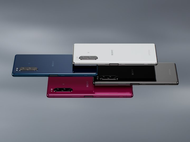 Das Sony Xperia 5 ist ab Oktober 2019 in mehreren Farben erhältlich
