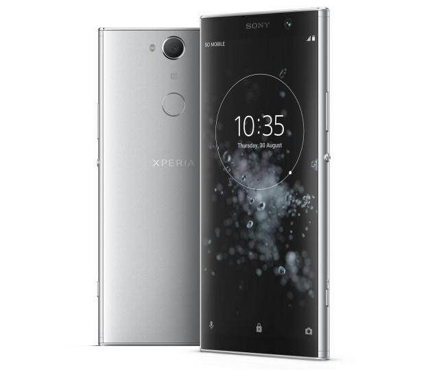 Der Fingerabdruck-Scanner liegt auf der Rückseite des Sony Xperia XA2 Plus