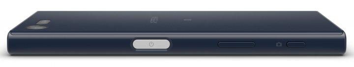 Sony Xperia X Compact: Der Fingerabdruck-Scanner ist im An/Aus-Knopf integriert
