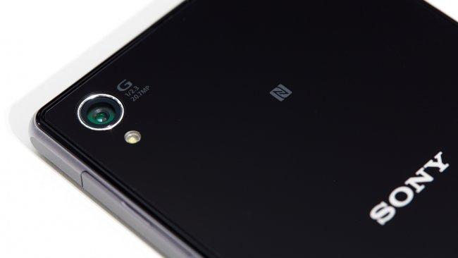 Sony Xperia Z1: Auf der Rückseite befindet sich die integrierte Kamera mit Sony G-Lens
