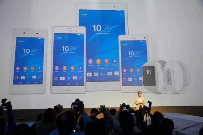 Sony Xperia Z3 Line-Up auf der IFA 2014