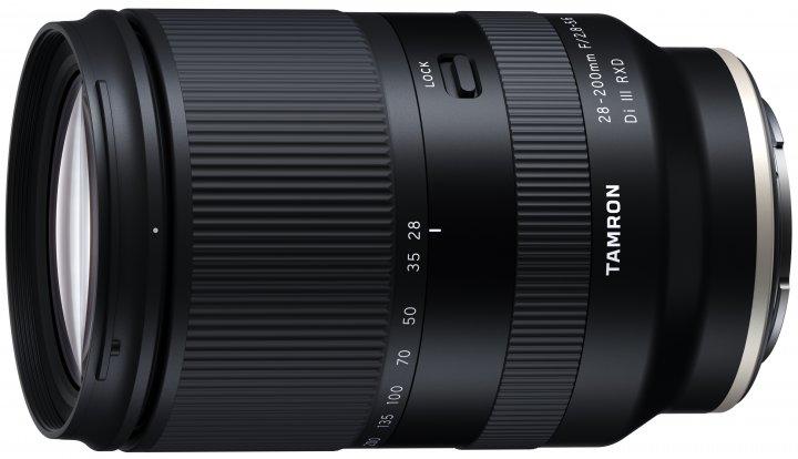Tamron 28-200mm f/2.8-5.6 Di III RXD [Bildmaterial: Tamron Europe]