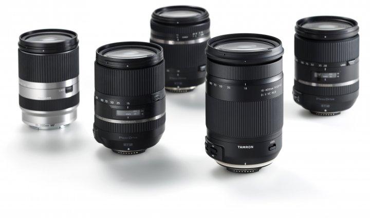Tamron 18-400 mm f/3.5-6.3 Di II VC HLD vor der restlichen, aktuellen Serie an Reisezoom-Objektiven [Bildmaterial: Tamron]