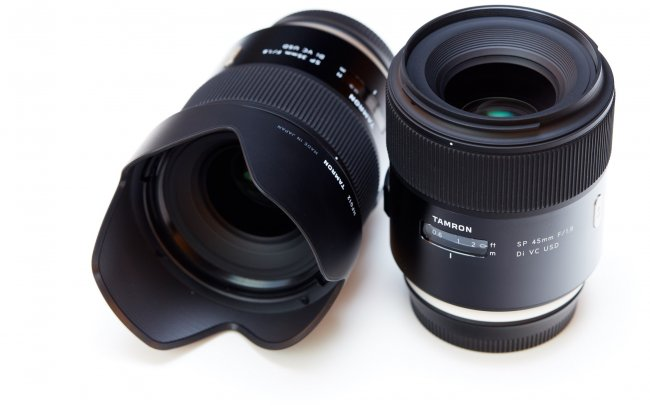 Tamron SP 35 mm f/1.8 Di VC USD und SP 45 mm f/1.8 Di VC USD