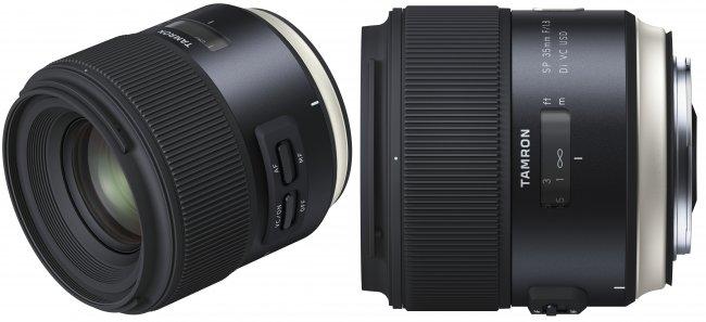 Tamron SP 35 mm f/1.8 Di VC USD im neuen 'Human Touch'-Design [Bildmaterial: Tamron]