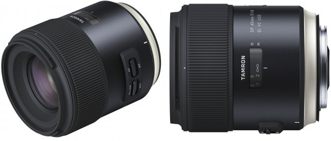 Tamron SP 45 mm f/1.8 Di VC USD im neuen 'Human Touch'-Design [Bildmaterial: Tamron]