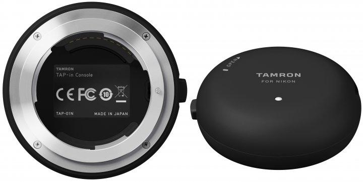 Objektive am PC und Mac einstellen: Tamron Tap-In Console [Bildmaterial: Tamron Europe]