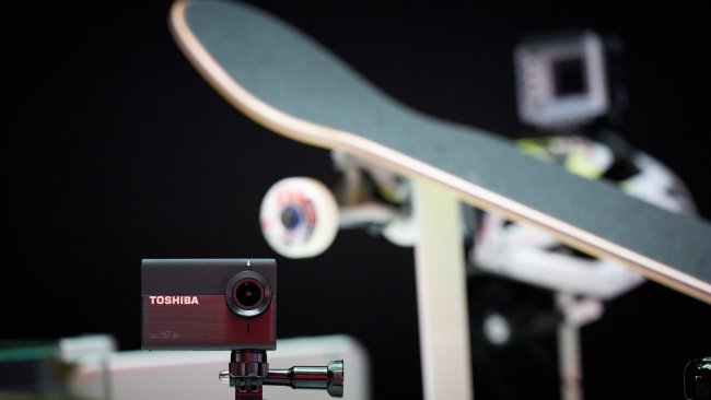 Toshiba Camileo X-Sport Actioncam auf der IFA 2013