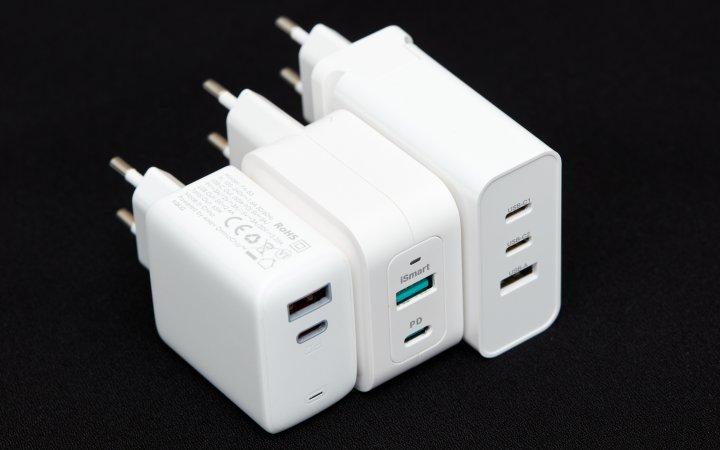 USB-C-Netzteile: 65-Watt-Klasse (GaN)