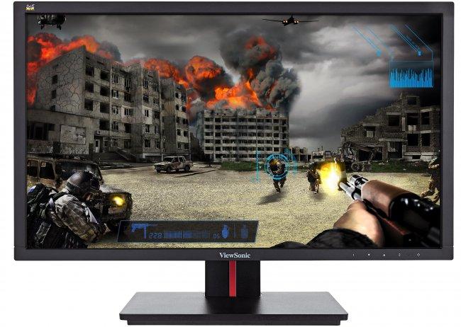 ViewSonic Gaming-Monitor mit 144 Hz Bildwiederholrate: VG2401mh [Bildmaterial: ViewSonic]