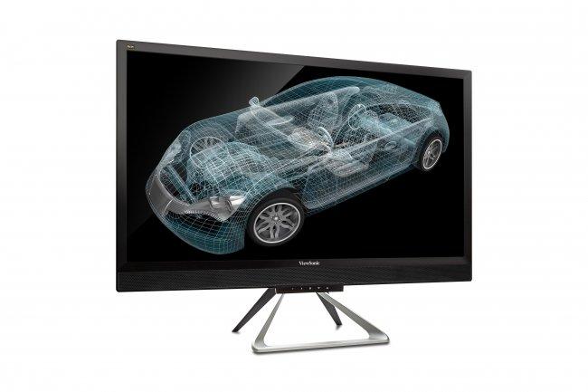 ViewSonic VX2880ml: 28 Zoll, UHD-Auflösung, 10 bit Farbtiefe und 5 ms Reaktionszeit - ein gesunder Mix für den Alltag.