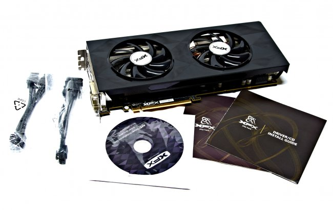 XFX R9 390X DD Black Edition - Der Lieferumfang