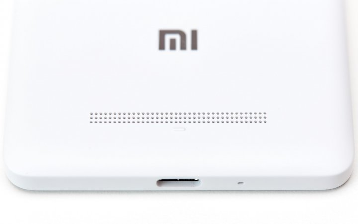 Auf der Rückseite vom Xiaomi Mi 4c finden wir den Lautsprecher vor