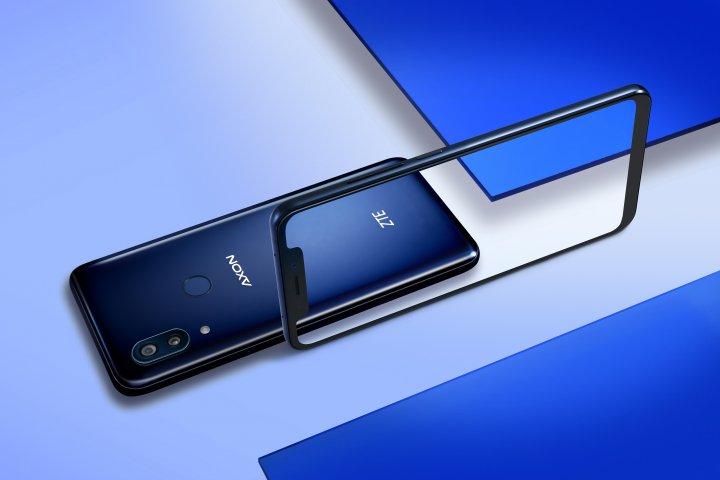 Die Rückseite des ZTE Axon 9 Pro ist leider anfällig für Fingerabdrücke