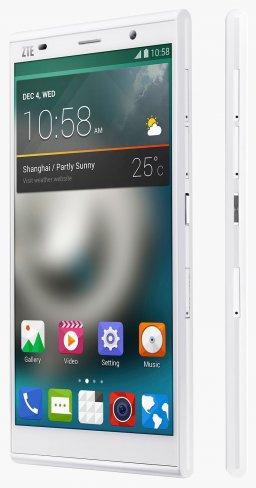 ZTE Grand Memo II LTE: Galaxy Note 3 Konkurrent mit schnellem Mobilfunk [Bildmaterial: ZTE]