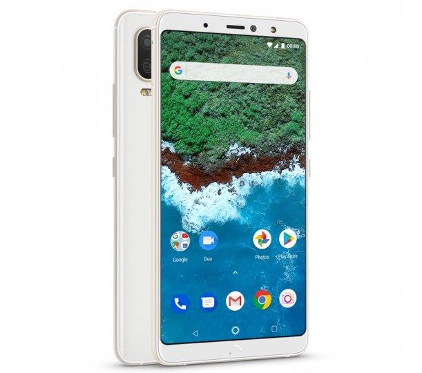Das Design des bq Aquaris X2 Pro erinnert entfernt an Apple iPhones und die Pixel-Smartphones von Google
