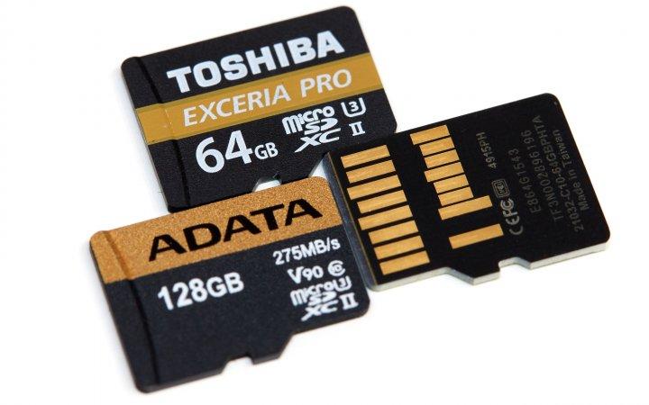 Die besten microSD-Speicherkarten 2017: Ohne UHS-II ist kein Spitzenplatz mehr zu holen