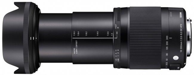 Sigma 18-300 mm f/3.5-6.3 DC Macro OS HSM Contemporary (C014) [Bildmaterial: Sigma]