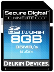 Delkin Elite 633 UHS-I 8GB