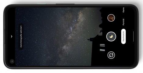 Das Google Pixel 4a bietet nur eine Hauptkamera, aber dafür eine ausgeklügelte Kamera-Software inklusive Nachtmodus